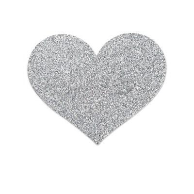 Pezoneras Flash - Corazón Plata BIJOUX Indiscrets