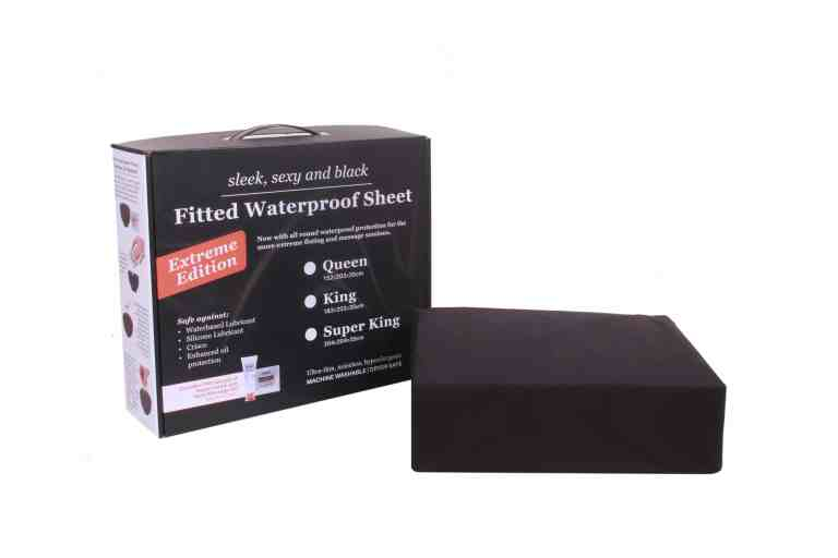 Eroticgel Extreme Sheet Front with box and waterproof sheet
