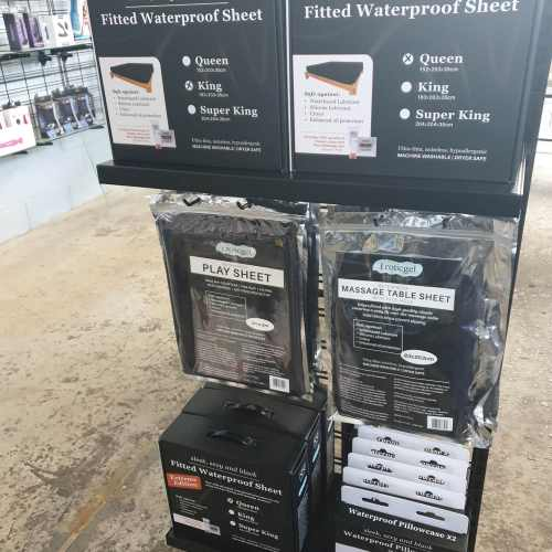 Eroticgel waterproof sheet box collection at store Black Rabbit