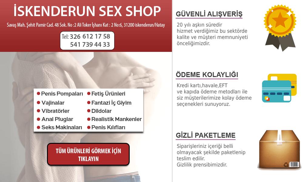 iskenderun sex shop