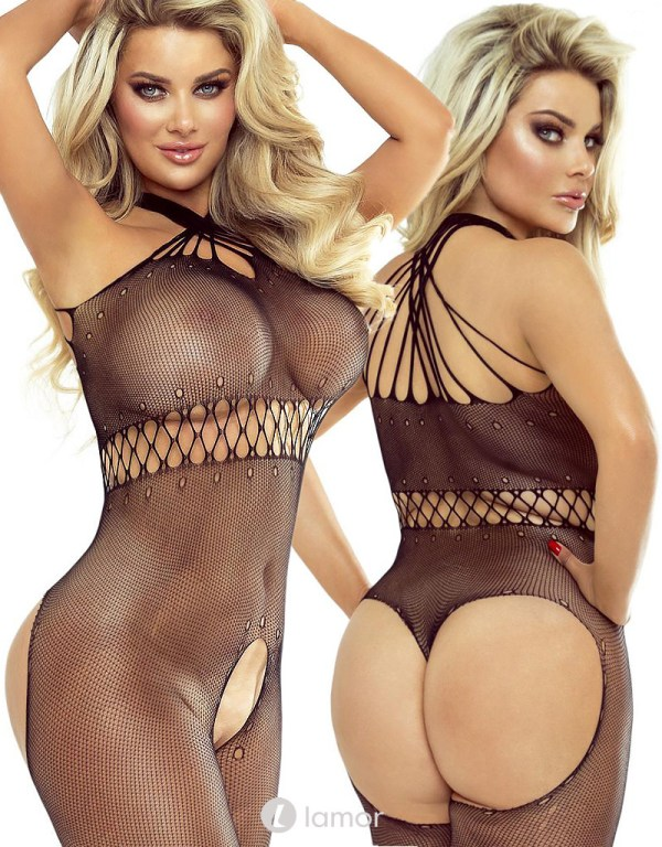 * PROVOCATIVE Sierlijke Net bodystocking