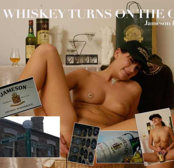 Irish whiskey turns on the girls!