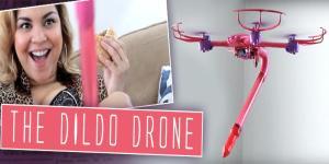 Nu kan kvinder få hands-free sex med en Dildo Drone!