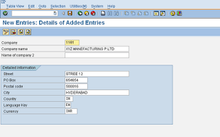 SAP FI Company Configuration Guide [OX15] - ERP DOCUMENTS