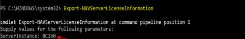 Dynamics 365 server instance