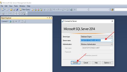 Select SQL Server Name