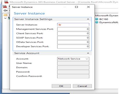 Server Instance