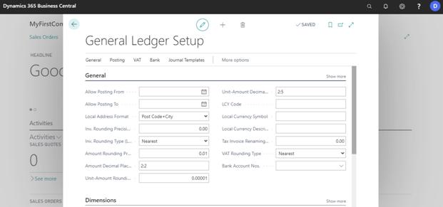 Fill-general-ledger-setup-in-business-central