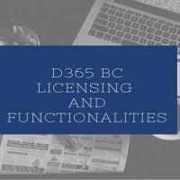 D365 BC Licensing and Functionalities