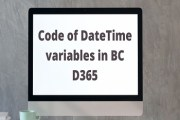 How to find Days, Hours, Minutes and Seconds between two DateTime variables in BC D365