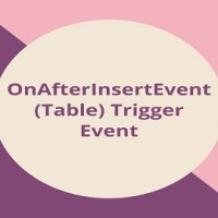 How to Call OnAfterInsertEvent (Table) Trigger Event via EventSubscriber