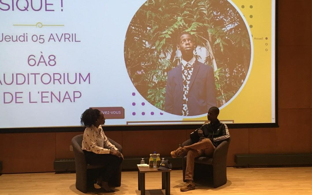 Karim Ouellet and the fear of entrepreneurship