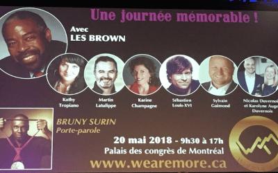 Infiniment Plus: superbe événement avec Les Brown
