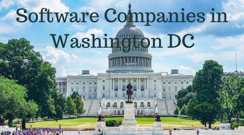 List of top software development companies in Washington DC