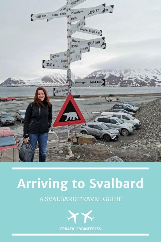 svalbard arrival