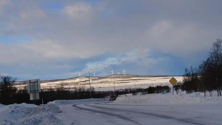 Windswept Kiruna