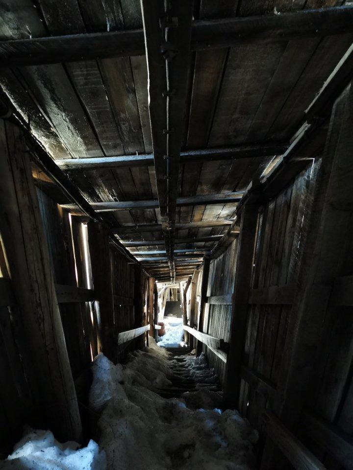 An abandoned coal mine