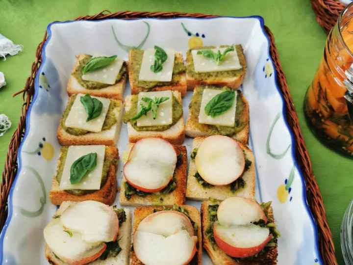 fancy mini sandwiches