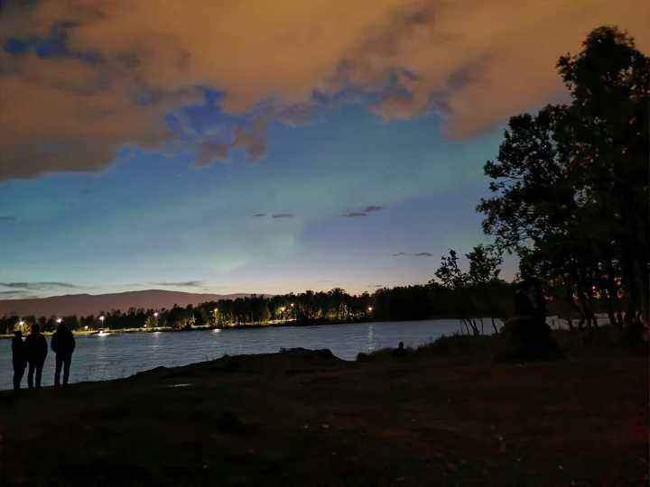 2 minutes of Aurora at Prestvannet