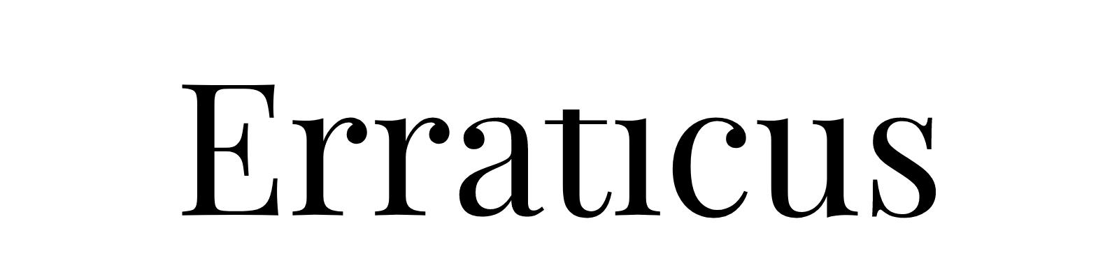 Erraticus