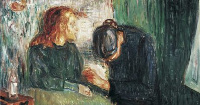 Spiritual Love Originates Shared Suffering Pity Erraticus Derek Parsons Sick Child Edvard Munch