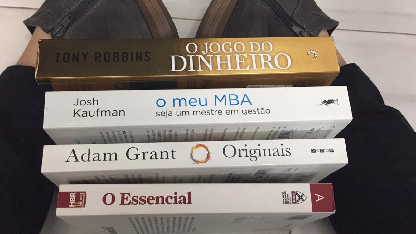 comprei cem euros em livros