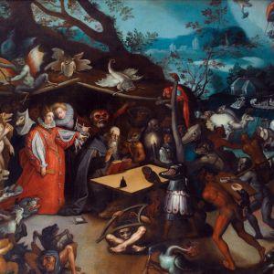 Homilía breve sobre misa e teatros