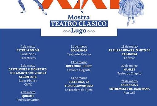 XXI Mostra de Teatro Clásico de Lugo