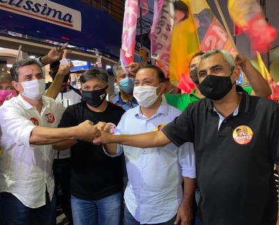Dimas, Fabiano Horta, Rodrigo Neves, Marlos