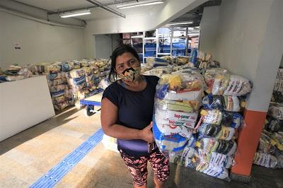 entrega cesta básica Niterói
