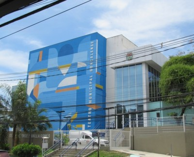 Fachada Teatro SG
