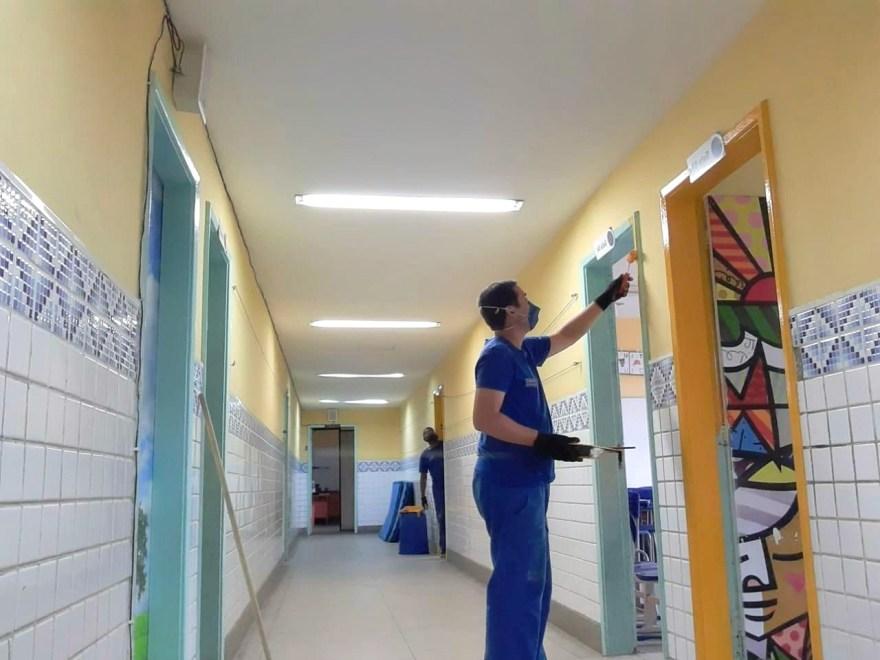 Reforma escola Niterói