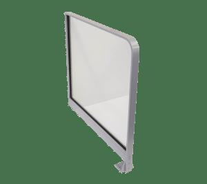 Pedestrian Safety Barrier Floor Wall Glass
