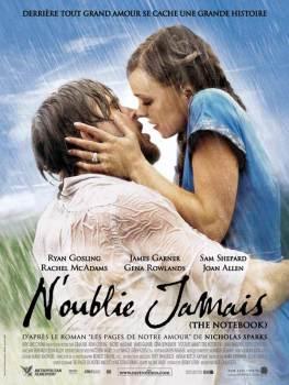"""Affiche du film """"N'oublie jamais"""" (The Notebook)"""