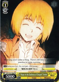 Hope In the darkness of Despair armin