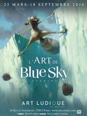 Blue Sky - affiche