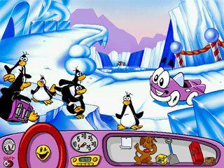 L'éclate et les pingouins.
