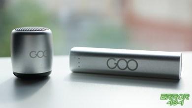 Enceinte et batterie externe Goo