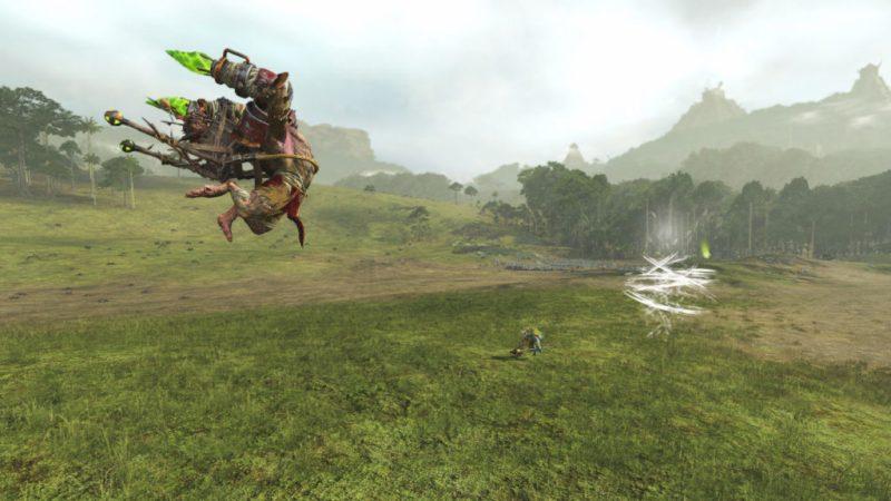 Combat dans Total War Warhammer II