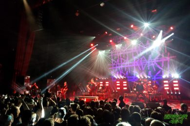 Papa Roach   Olympia. Crédit : Nina Hobby