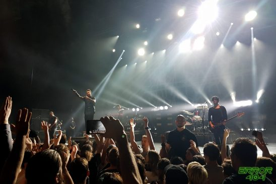 Papa Roach | Olympia. Crédit : Nina Hobby