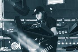 Perturbator au Download festival Error404 par Romain Keller