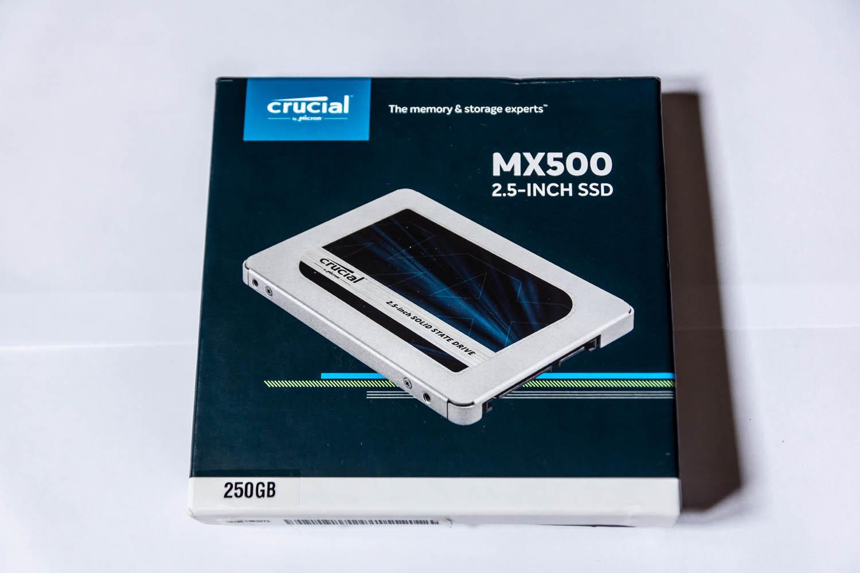 Test SSD MX500 Crucial 250 et 500go