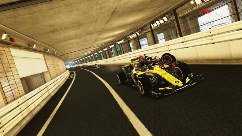 F1 2018 test PS4
