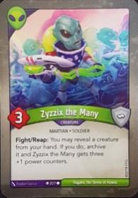 Zyzzix The Many - Keyforge