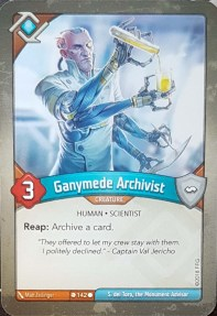 Ganymede Archivist - Keyforge