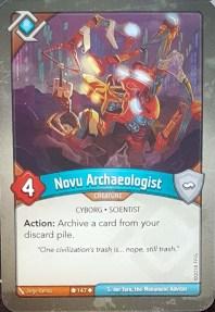 Novu Archeologist - Keyforge