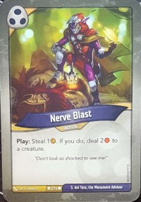 Nerve Blast - Keyforge