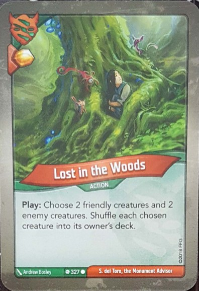 Lost In The Woods - Keyforge