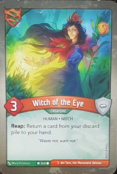 Witch Of The Eye - Keyforge